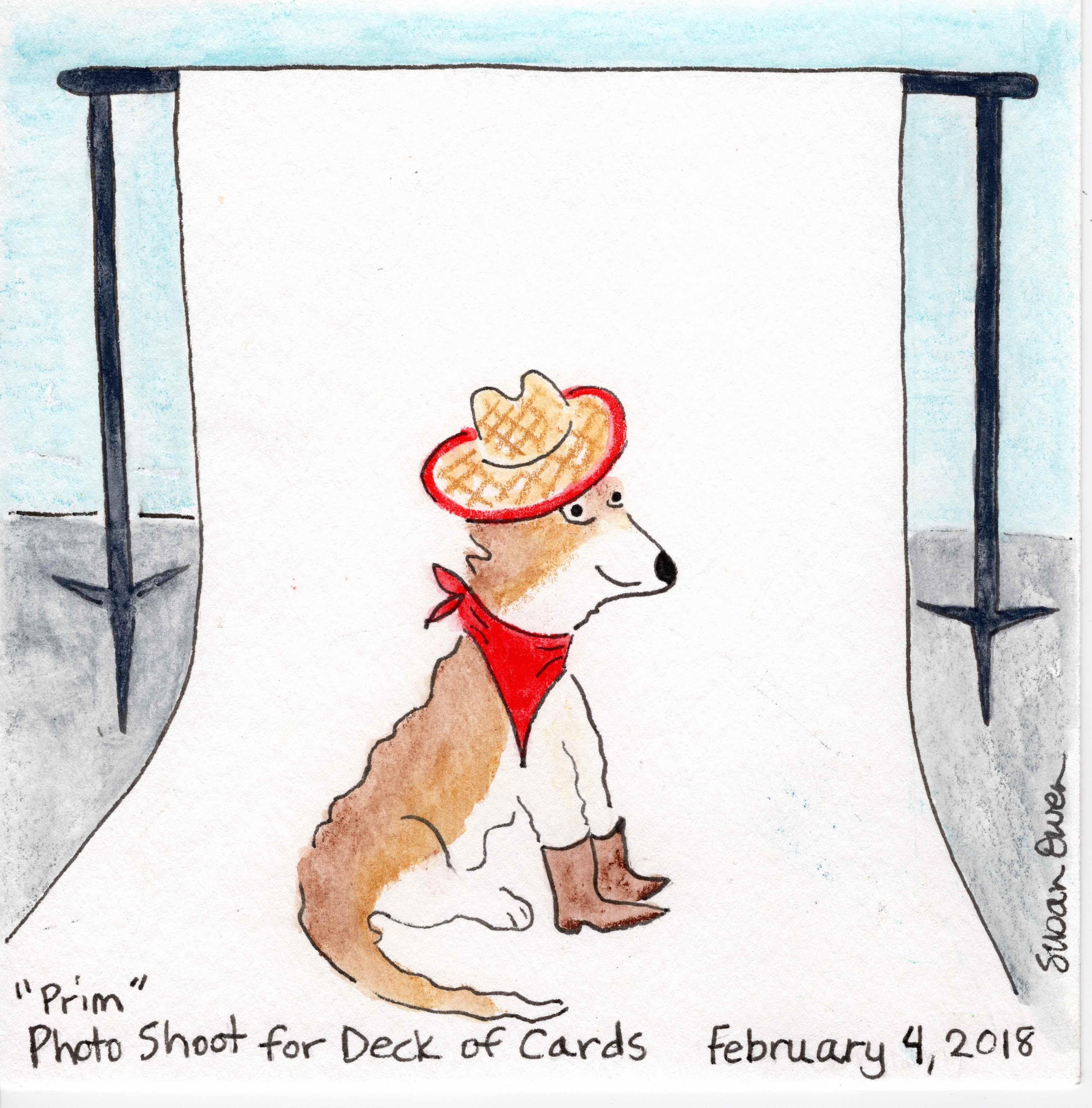 Cute cowgirl named Prim